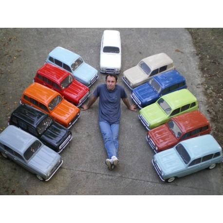MAQUETTE Renault 4L