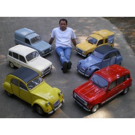 MAQUETTE Citroën 2 CV